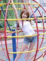 Asian model Yuuna