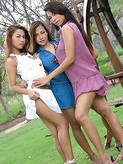 Asian Nurse Toying