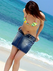 Sexy Asian model