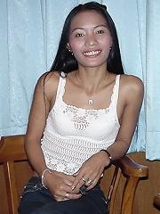 Thai GF dildo show