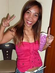 Thai girl with big ass