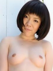 Nice Asian Dildoing