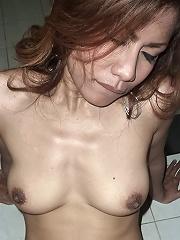 Thai milf bareback