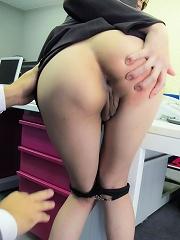 Ibuki the pervy secretary squirts before cocksucking
