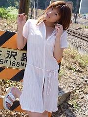 Kyoko enjoys posing