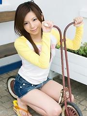 Adorable Asian model