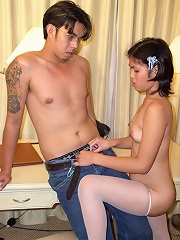 Tight little asian coed gets deeply banged and cumfaced at home