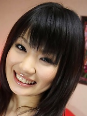 Cute and Adorable Akane Ozora is happy to be fingered by horny guy
